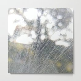 window scratch abstract Metal Print