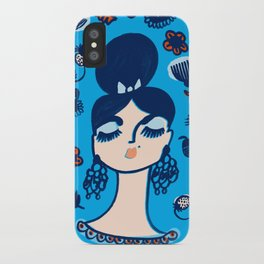 Diamonds and Pearls in Your Hair iPhone Case