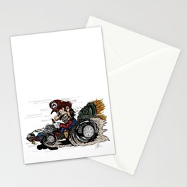 Mario Kart 90s Style Stationery Cards