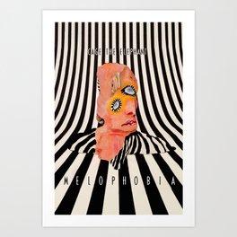 Ca-ge The Elephant - Melophobia - Album Art Poster - Wall Art Print - Home Decor Art Print