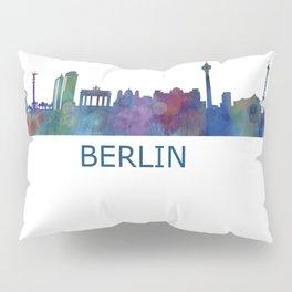 Berlin City Skyline HQ Pillow Sham
