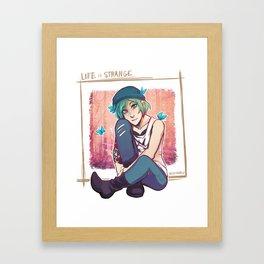 Chloe's Butterflies Framed Art Print