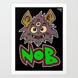 Nob Art Print