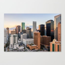 Sunset City Canvas Print