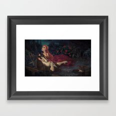 The Beast Dies Framed Art Print