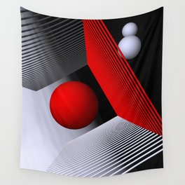 3D-geometry -1- Wall Tapestry