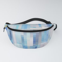 Abstract blue pattern 2 Fanny Pack
