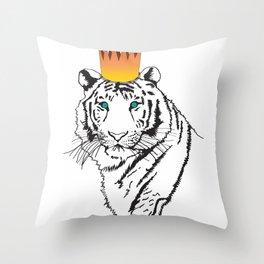 Shere Khan (Tiger King)  Throw Pillow