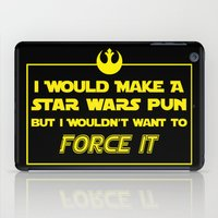 pun iPad Cases featuring Intergalactic Pun by Ninja Klee