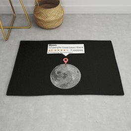 If moon was just any place Rug