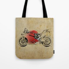 Ducati 1199 Panigale - Original drawing | gift for men and bikers Tote Bag