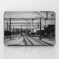 train iPad Cases featuring Train by Maressa Andrioli