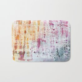 Abstract Contemporary Painting Bath Mat