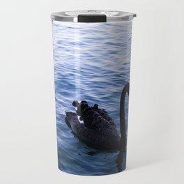Lone Swan Travel Mug