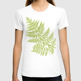 Fresh Fern Modern Botanical T-shirt