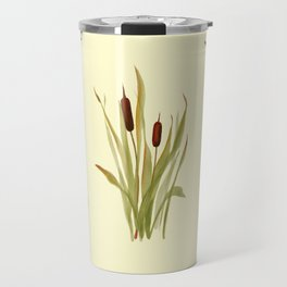 summer cattails Travel Mug