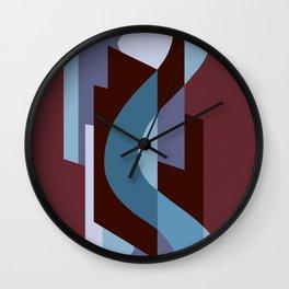 SUISSE - Art Deco Modern: BALORAMA LOUNGE Wall Clock