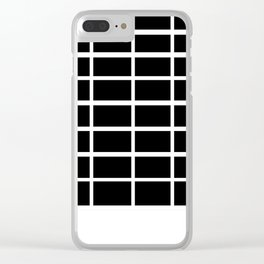 boxy inverse Clear iPhone Case