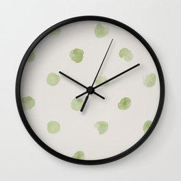 Puntos Wall Clock