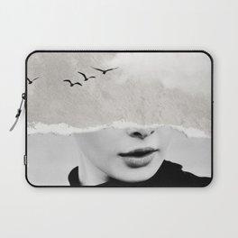 minimal collage /silence Laptop Sleeve