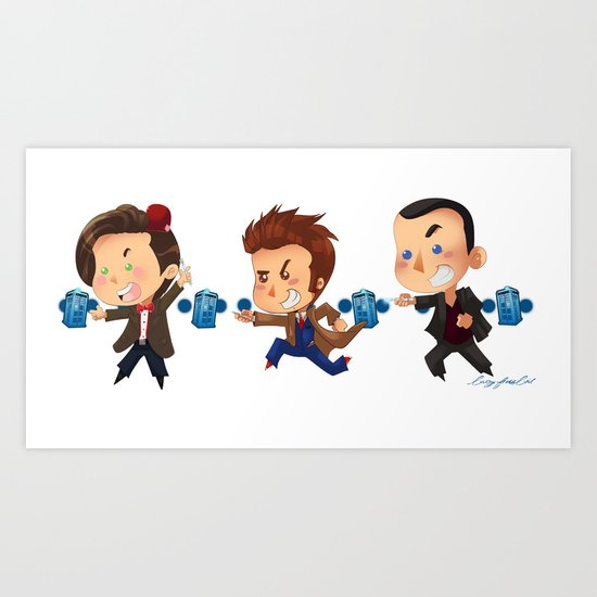 The Doctors! Art Print