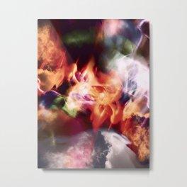 """""""Coloring The Sky 5"""" Metal Print"""