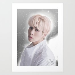 SHINee Jonghyun Art Print
