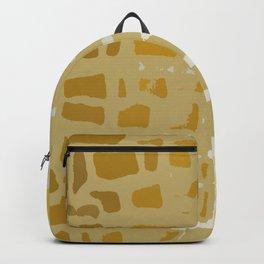 Giraffe Texture Print Backpack