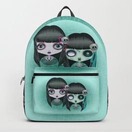 Zombie Doll The Dark Side Backpack