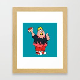 Family Guyfieri Framed Art Print