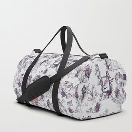Toile de Jouy Between eras 02 Duffle Bag