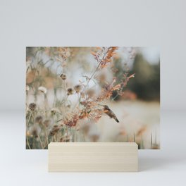 Hummingbird Love Mini Art Print