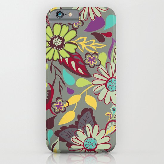 Large Bright Blooms iPhone & iPod Case
