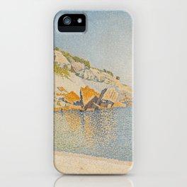 Cassis, Cap Lombard, Opus 196 iPhone Case