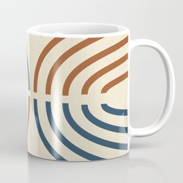 Geometric Ellipse Coffee Mug