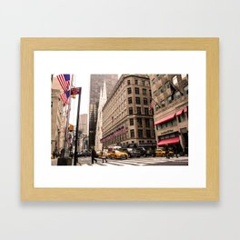 ArtWork New York City Photo Art Framed Art Print