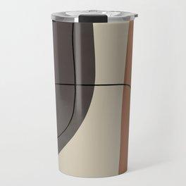 Modern Abstract Shapes #2 Travel Mug