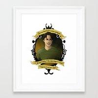 buffy the vampire slayer Framed Art Prints featuring Xander - Buffy the Vampire Slayer by muin+staers