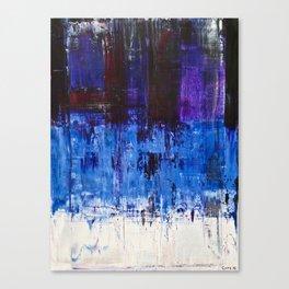 Motion Blues #2 Canvas Print