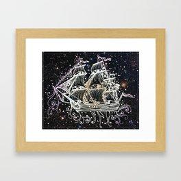 The Great Sky Ship II Framed Art Print