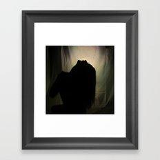 Howlin' For You Framed Art Print