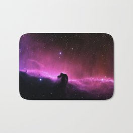 Horsehead Nebula in the Constellation Orion Bath Mat