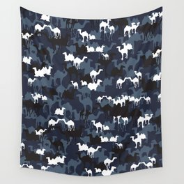 CAMELFLAGE - Special Ops Blue Wall Tapestry