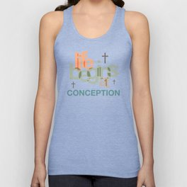 Life Begins At Conception Unisex Tank Top