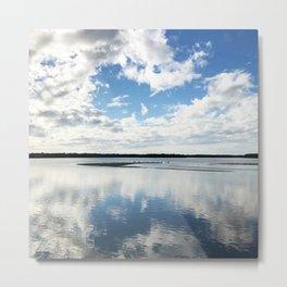 Blue Sky Mining Metal Print