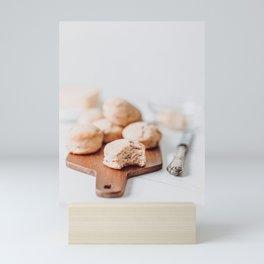 Cheese and Ham Muffins, Food Photography Print, Kitchen Print, Flat Lay Wall Art, Restaurant Cuisine Art Print Mini Art Print