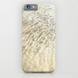 Beach Ripples iPhone Case