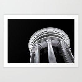 Colosseum Skopje  Art Print