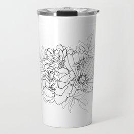 Floral Arrangment Travel Mug