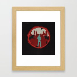 Law's Last Stand Framed Art Print